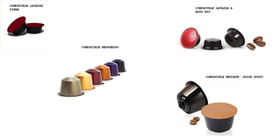 COFFEE CAPSULES MADE IN ITALY